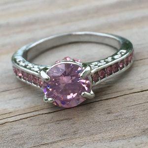 Jewelry - Pink Sapphire multi-stone fashion ring
